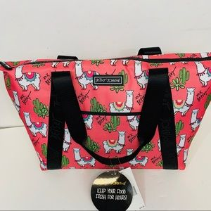 Betsey Johnson large insulated cooler bag/ tote